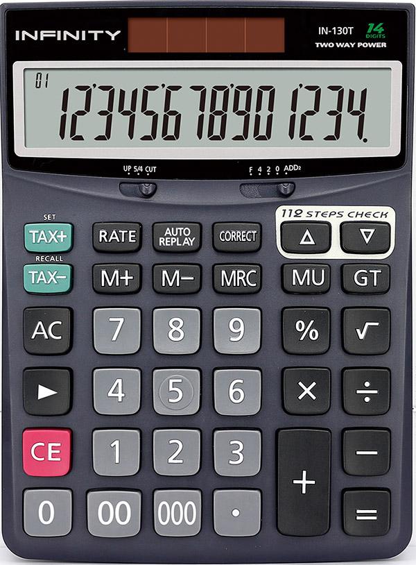 ماشین حساب رومیزی 130t