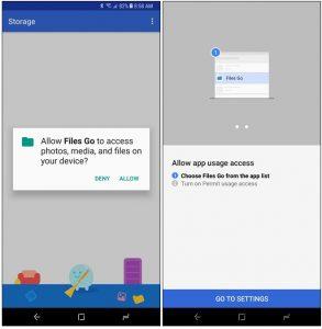 اپلیکیشن Google Files Go