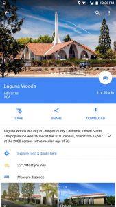 گوگل مپ در حالت آفلاین