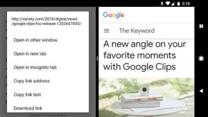 مشاهدهی همزمان دو صفحه در گوگل کروم