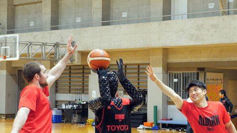 ربات بسکتبالیست تویوتا