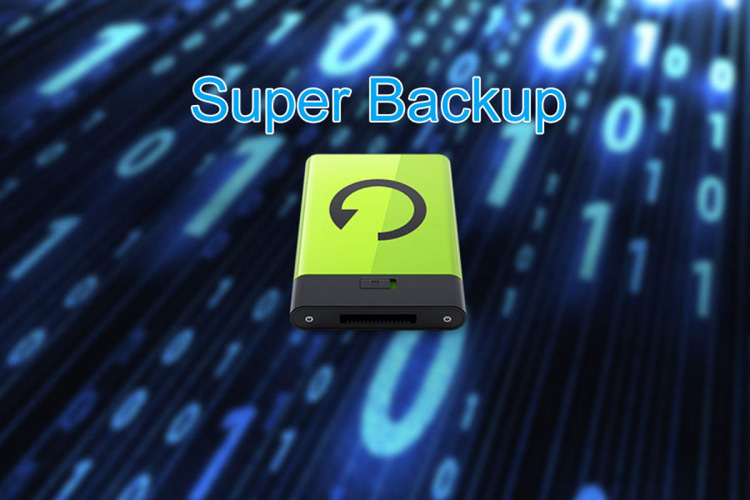 اپلیکیشن Super Backup