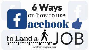 تبدیل فیسبوک به یک سایت کاریابی