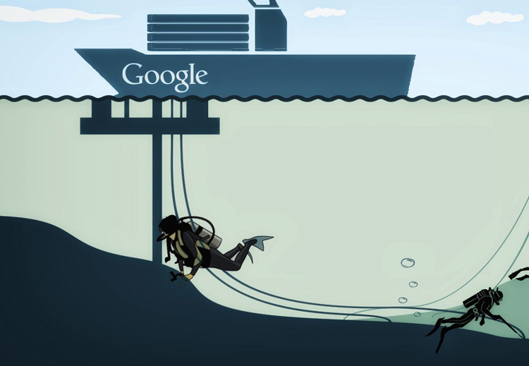 کابل زیر دریایی گوگل در آسیا