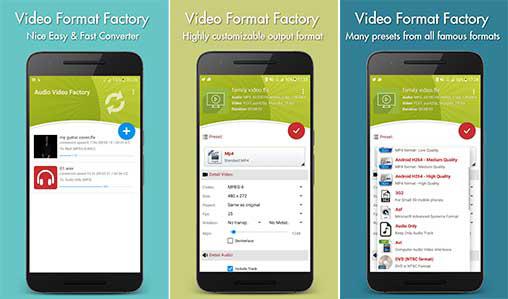 اپلیکیشن Video Format Factory