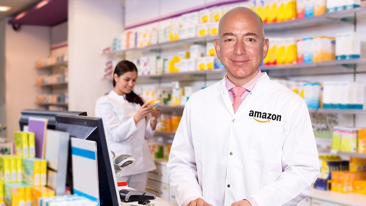 فروش دارو توسط آمازون