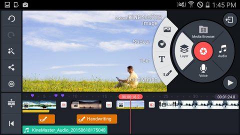 نرم افزار KineMaster Pro کامل ترین نرم افزار ویرایش تصاویر
