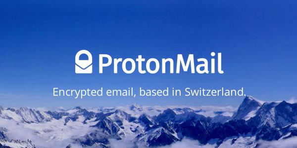 سرویس ایمیل ProtonMail