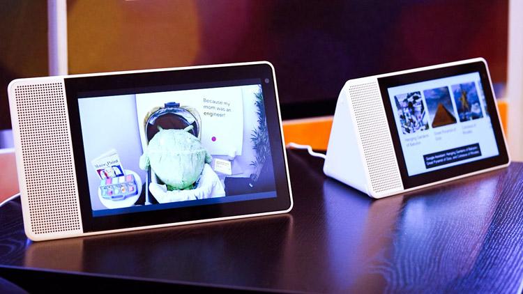 صفحه نمایش اسپیکر هوشمند لنوو