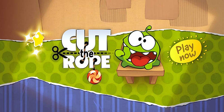 بازی Cut the rope