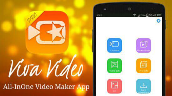 نرم افزار VivaVideo Pro