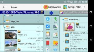 اپلیکیشن X-plore File Manager