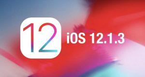 سیستم عامل iOS 12-1-3