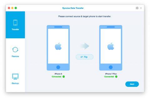بهترین نرم افزار مدیریت گوشی های آیفون نرم افزار SynciOS