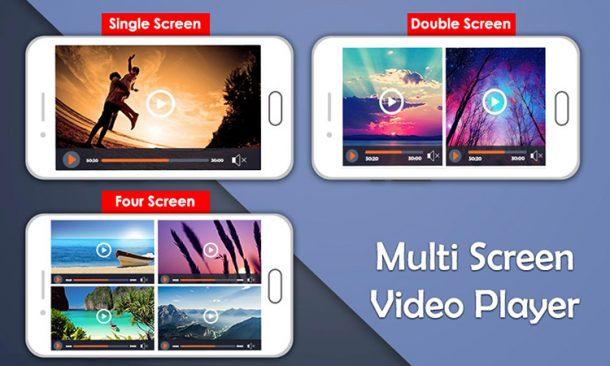 دانلود نرم افزار Multi Screen Video Player