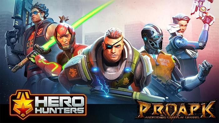 دانلود بازی Hero Hunters