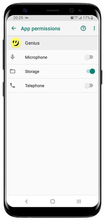 کنترل دسترسی اپلیکیشن ها در اندروید
