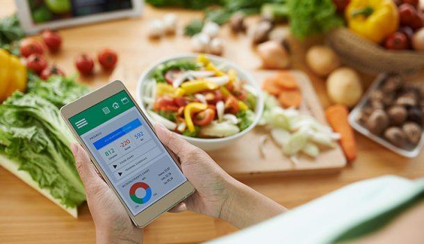 دانلود برنامه MyPlate Calorie Tracker نرم افزار رژیم غذایی
