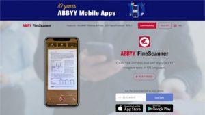 اپلیکیشن Abbyy FineScanner