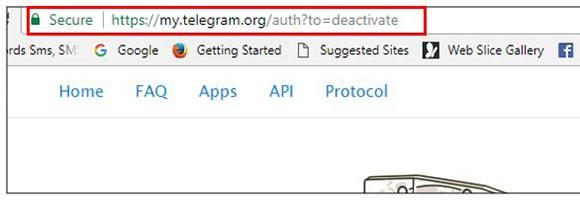 پاک کردن اکانت تلگرام برای همیشه