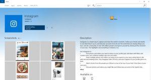 آموزش استفاده از اینستاگرام در ویندوز 10