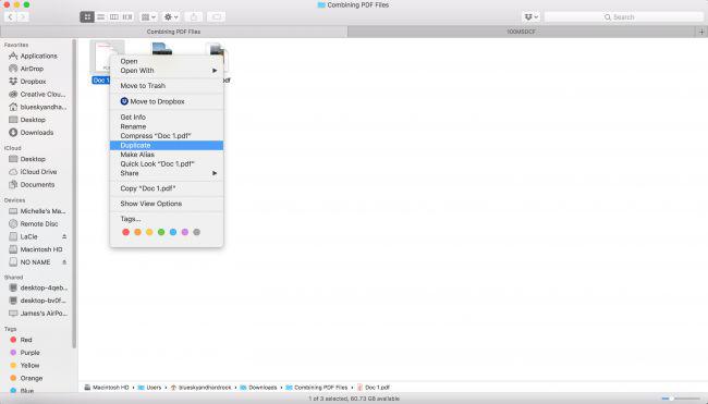 نحوه ترکیب چند فایل PDF