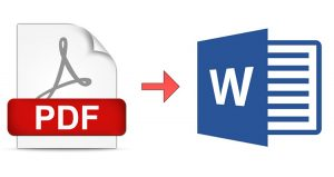 بهترین نرم افزارهای تبدیل PDF به Word
