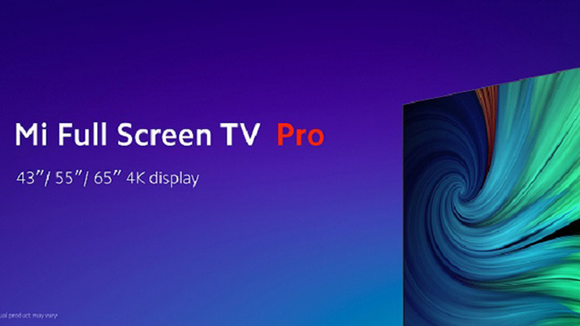 تلویزیون هوشمند شیائومی با کیفیت 4K