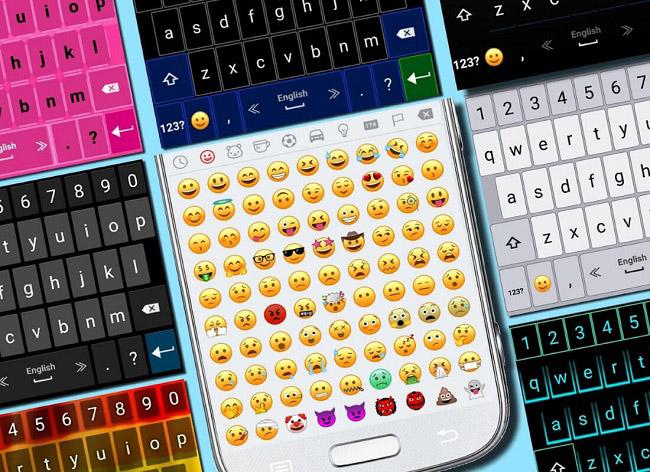 برنامه Emoji Keyboard