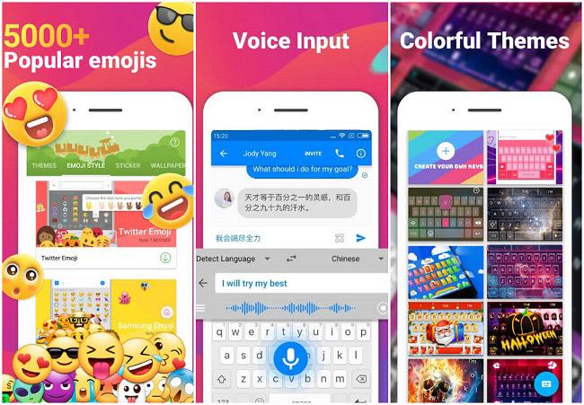 برنامه iMore Emoji Keyboard