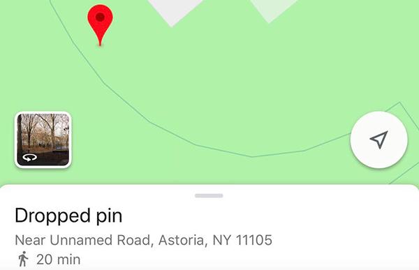 اضافه کردن یک پین روی نقشه برای راهنمایی دوستانتان