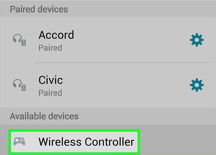 اتصال دسته پلی استیشن 4 به گوشی اندرویدی