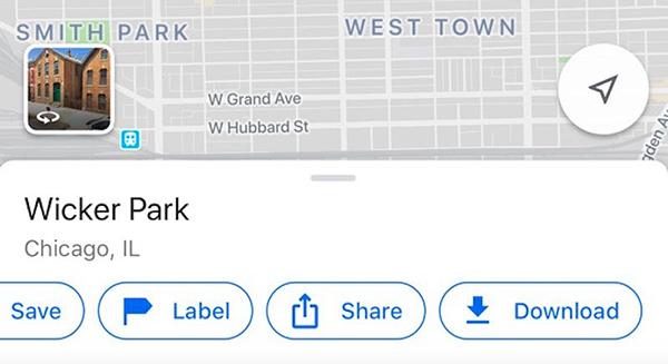 دانلود کردن نقشه در گوگل مپ