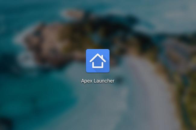 برنامه Apex Launcher