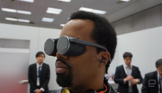 نخستین هدست واقعیت مجازی UHD HDR دنیا