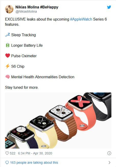 ساعت هوشمند اپل واچ 6