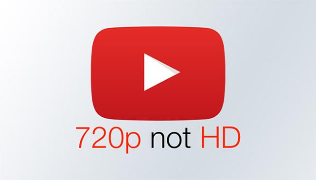 یوتیوب پسوند HD را از رزولوشن 720p حذف کرد
