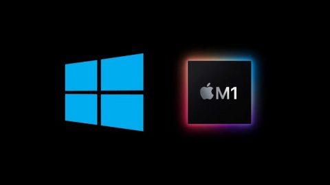 اجرای ویندوز 10 بر روی تراشه M1 اپل