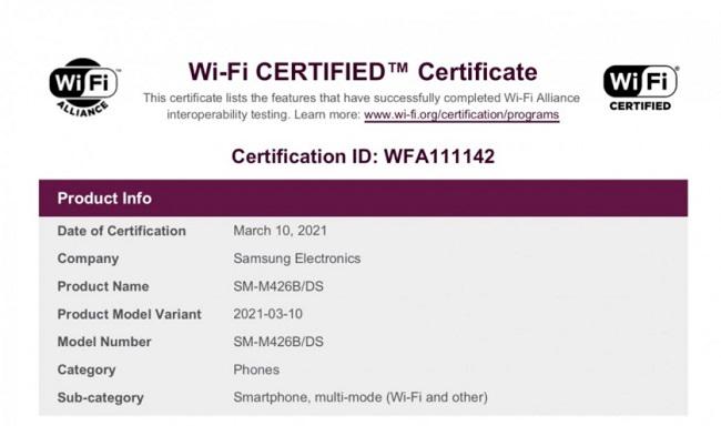 اولین گوشی سری M سامسونگ با قابلیت 5G