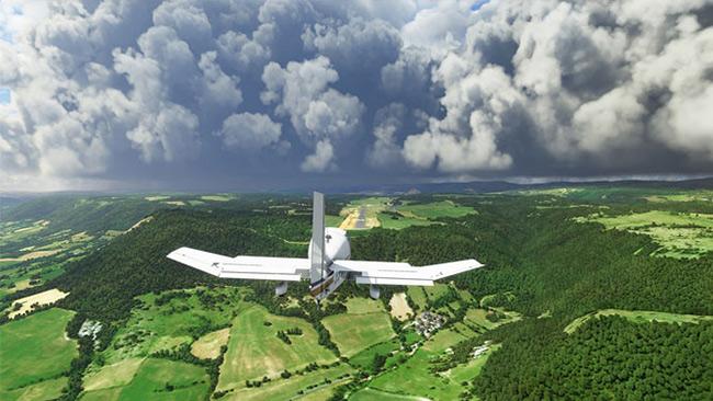 شبیه ساز پرواز Flight Simulator 2020 مایکروسافت