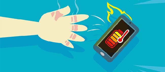 چگونه گرمای گوشی خود را کاهش دهیم